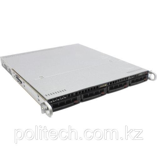 "Сервер Supermicro CSE-813MFTQC-505CB/X11DPL SMR0125 (1U Rack, Xeon Silver 4112, 2600 МГц, 4 ядра, 8.25 Мб, 1x 16 ГБ, 3.5"", 4 шт, Без HDD)"