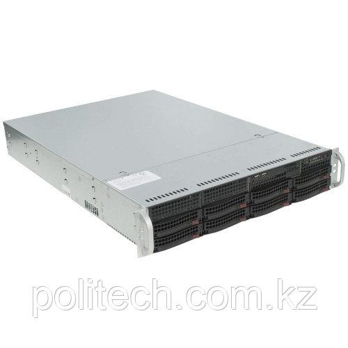 """Сервер Supermicro CSE-825TQ-563LPB/X11DPL SMR0130 (2U Rack, Xeon Silver 4112, 2600 МГц, 4 ядра, 8.25 Мб, 1x 16 ГБ, 3.5"""", 8 шт, Без HDD)"""