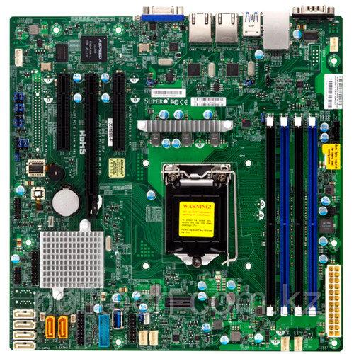 "Сервер Supermicro CSE-813MTQ SMR0117 (1U Rack, Xeon E3-1220 v6, 3000 МГц, 4 ядра, 8 Мб, 1x 8 ГБ, 3.5"", 4 шт, Без HDD)"