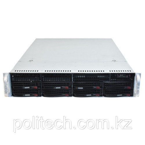 "Сервер Supermicro CSE-825TQ-R740LPB SMR0134 (2U Rack, Xeon E5-2620 v4, 2100 МГц, 8 ядер, 20 Мб, 1x 16 ГБ, 3.5"", 8 шт, Без HDD)"