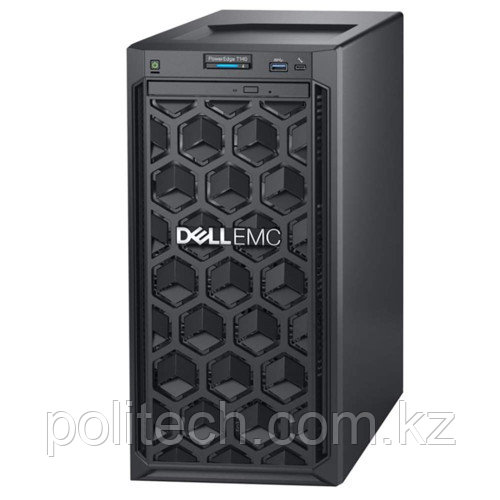 "Сервер Dell T140 210-AQSP_B02 (Tower, Xeon E-2134, 3500 МГц, 4 ядра, 8 Мб, 1x 8 ГБ, 3.5"", 4 шт, Без HDD)"