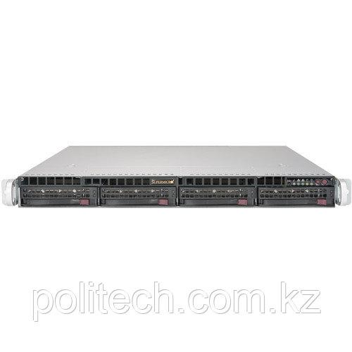 "Сервер Supermicro CSE-813MFTQC-505CB/X10DRL-i SMR0105 (1U Rack, Xeon E5-2620 v4, 2100 МГц, 8 ядер, 20 Мб, 1x 16 ГБ, 3.5"", 4 шт, Без HDD)"