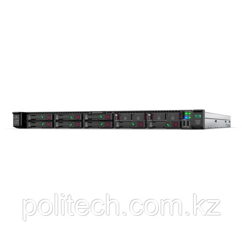 "Сервер HPE ProLiant DL360 Gen10 867961-B21 (1U Rack, Xeon Bronze 3106, 1700 МГц, 8 ядер, 11 Мб, 1x 16 ГБ, 2.5"", 8 шт, Без HDD)"
