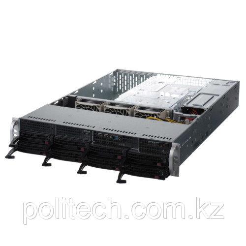 "Сервер Supermicro CSE-825TQ-563LPB/X10DRL-i SMR0113 (2U Rack, Xeon E5-2620 v4, 2100 МГц, 8 ядер, 20 Мб, 2x 16 ГБ, 3.5"", 8 шт, Без HDD)"