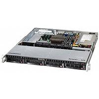 "Сервер Supermicro CSE-813MTQ SMR0119 (1U Rack, Xeon E5-2620 v4, 2100 МГц, 8 ядер, 20 Мб, 1x 16 ГБ, 3.5"", 4 шт, Без HDD)"