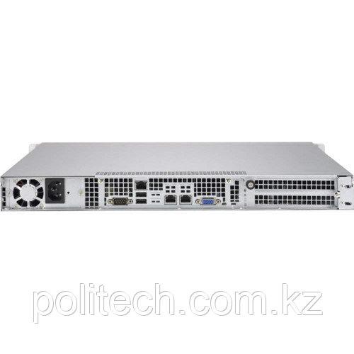 "Сервер Supermicro CSE-813MFTQC-505CB/X11SPL-F SMR0107 (1U Rack, Xeon Bronze 3104, 1700 МГц, 6 ядер, 8.25 Мб, 1x 16 ГБ, 3.5"", 4 шт, Без HDD)"