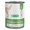 Влажный корм для собак всех пород Nature's Protection Adult Beef & Beef Hearts с говядиной и говяжьим сердцем
