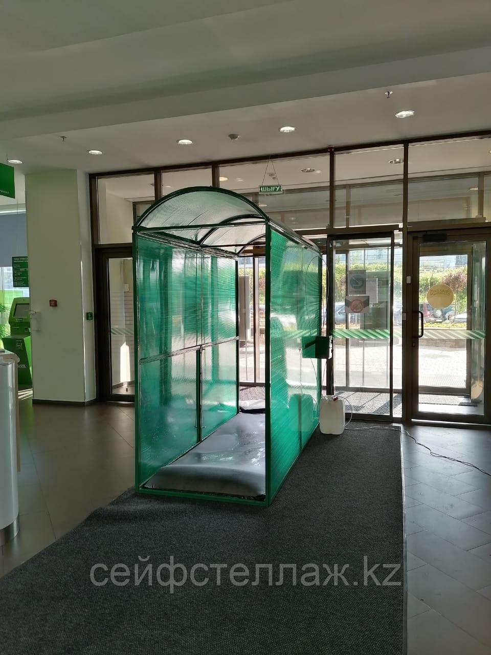 ☰ Дезинфицирующий (дезинфекционный) тоннель, купить в Алматы для дезинфекции человека