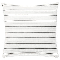 Подушка КОНСТАНСЕ белый полоска 40x40 смм ИКЕА, IKEA