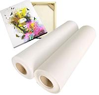 Холст 340 мкм (914*15*50,8) L1207072 ярко белый хлопковый для струйной печати