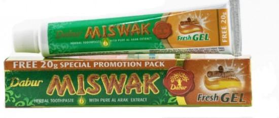 Зубная паста-гель «Miswak Fresh Gel»