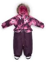 Kомбинезон для девочек FRAN Розовый цветы