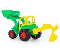 """""""Чемпион"""" трактор с ковшом+ прицеп+лесовоз (в сеточке), фото 1"""