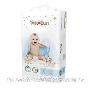 YokoSun Трусики YokoSun Premium  L  44 шт/уп (9-14 кг).
