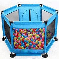Детский игровой манеж + 30 шариков, фото 1