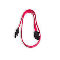 Интерфейсный кабель iPower iPiS SATA 26 AWG для HDD и CD-Drive (0.45м) Красный
