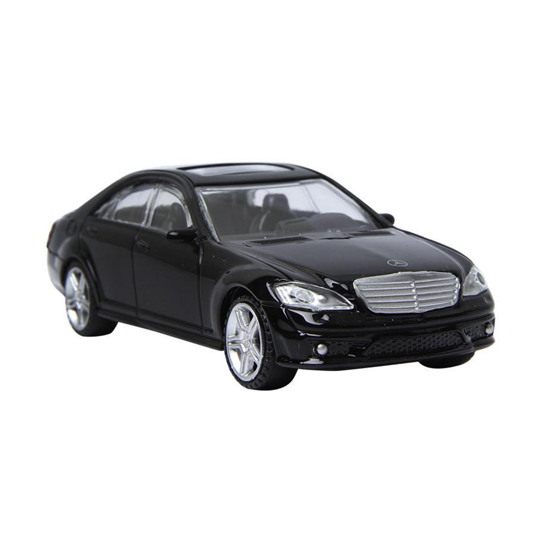 Металлическая машинка RASTAR 37100B 1:43 Mercedes-Benz S 63 AMG 115 см Чёрная