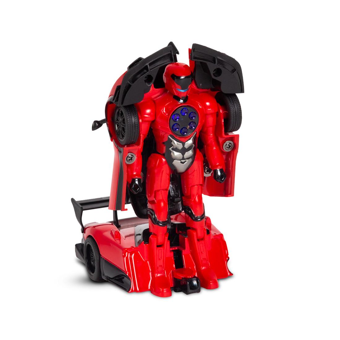 Металлический Трансформер RASTAR 61900R 1:32 Pagani Zonda R Свет Звук Красный