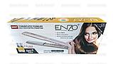Титановый утюжок для волос ENZO, фото 3
