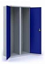 Двухсекционный инструментальный шкаф ИП-2, 1860х920х500 мм.