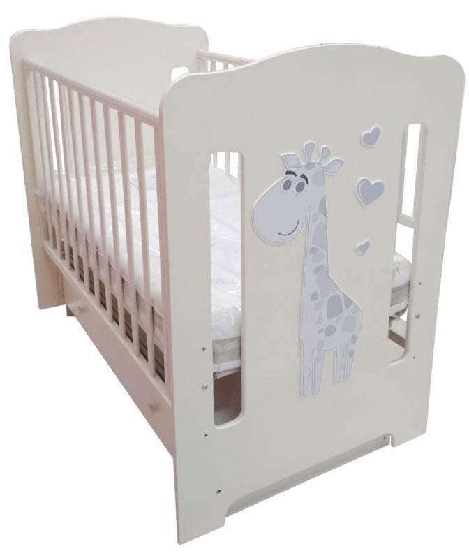 Детская кровать ЛЕЛЬ Baby sleep-8 Ваниль ПР 015