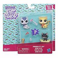 """Hasbro Littlest Pet Shop Набор """"Семья петов. Кошечки"""""""