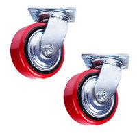Колесо поворотн. PU/металл (C550S/PU1540CB3ra/TG) 150мм