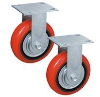 Колесо неповоротн. PU/металл (C550R/PU1540CB3ra/TG) 150мм