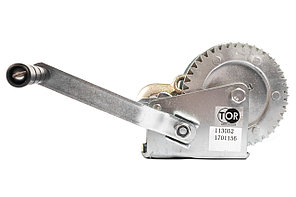 Лебедка ручная TOR ЛН-1200 (LHW) г/п 0,5 т, длина троса 10 м