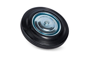 Колесо литая резина C85 (C-250х20х48-SLS) 250мм