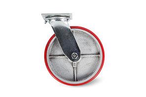 Колесо большегрузное поворотное PU (SCp 55) 125мм 360, 150, 360