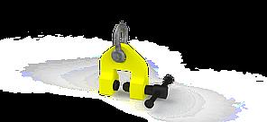 Захват струбцинный вертикальный ZSV (г/п 1,5 т, лист 0-35мм) 255*275*208