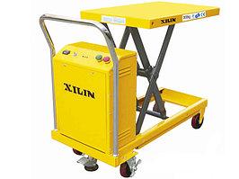 Стол подъемный передвижной XILIN г/п 300 кг 300-900 мм DP30 электрический 500, 500