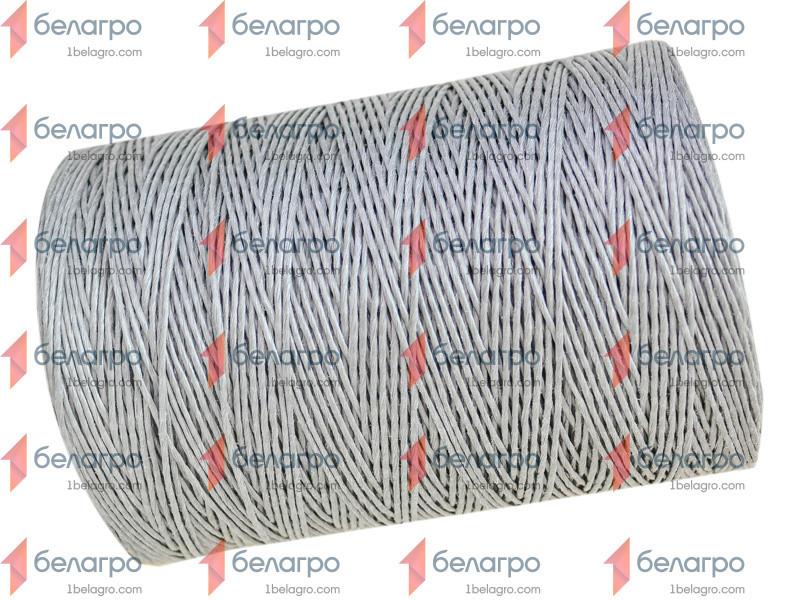 Шпагат полиолефиновый С-УФ-К 2200 ТЕКС сеновязальный цветной (серый) (бобина 5кг)