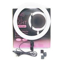 Кольцевая лампа «Ring Fill Light» со штативом для блогеров и beauty-мастеров (26 см), фото 2