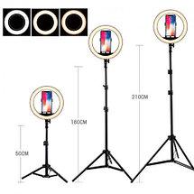 Кольцевая лампа «Ring Fill Light» со штативом для блогеров и beauty-мастеров (26 см), фото 3