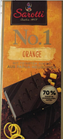 Шоколадная плитка Sarotti Papua Neuguinear, Содержание какао 70%, 100 гр