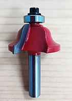 Фреза для ручного фрезера с подшипником, по дереву, 8мм. 31005