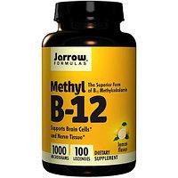 Метил B-12, со вкусом лимона, 1000 мкг, 100 пастилок Jarrow Formulas