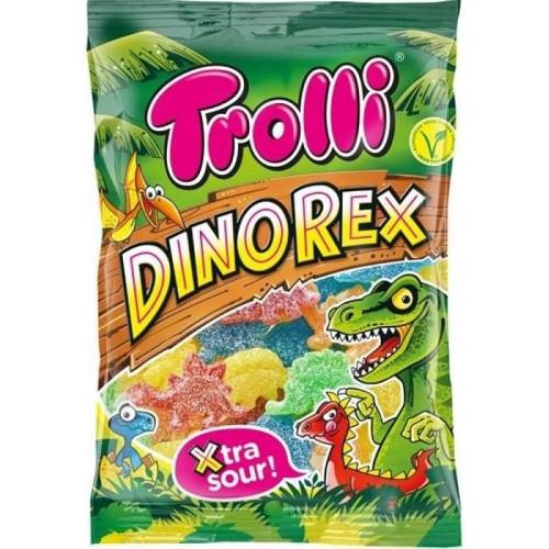 Жев. мармелад Trolli DinoRex Динозавр 100 гр. (Супер кислые)