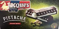 Темный шоколад Jacques с фисташковой пастой PISTACHE, (Содержание какао 52%), 200 гр.