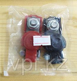 Клеммы для аккумулятора с пластиковым покрытием, (пара)