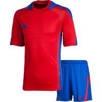 Комплект футбольной формы 2K Sport Viva, red/royal, размер XXL