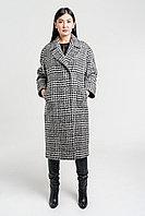 Пальто брендовое элегантное в клетку Perspective