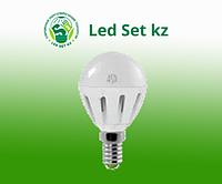 Лампа светодиодная LED-Шар-standard 5.0Вт 160-260В Е14 3000К 400Лм