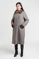 Пальто зимнее с норковой отделкой