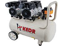 Воздушный безмасляный бесшумный компрессор на 50л KEDR K65026