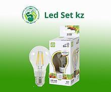 Лампа светодиодная LED-A60-PREMIUM 6Вт 220В Е27 3000К 540Лм прозрачная