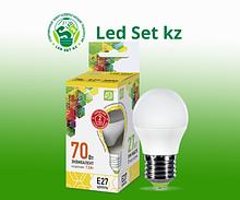 Лампа светодиодная LED-Шар-Standard 7,5Вт 230В Е27 3000К 675Лм