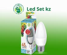 Лампа светодиодная LED-Свеча-Standard 7.5Вт 220В Е27 4000К 675Лм